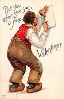 C14/ Valentine's Day Love Holiday Postcard Frances Brundage '13 Mansfield Ohio 6