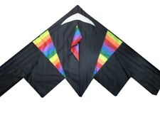"""70"""" Stealth Fighter Kite Outdoor Toy Sport Fun Gift/Flying Line Ak63"""
