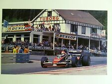 1984 Bruno Giacomelli's Toleman F1 Spa Print Picture Poster RARE!! Awesome L@@K