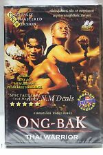Ong Bak Thai Warrior tony jaa digitally remastered version ntsc import dvd