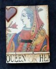 """Sid Dickens Memory T-161 Tile Block 2005 """"Queen of Hearts""""  T161 Retired"""