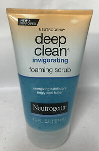 Neutrogena Deep Clean Invigorating Foaming Gel Scrub 4.2oz— Exfoliates