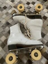 "Women's Size 4 R ""BETTY LYTLE"" ""Chicago Trophy"" Custom SKATES Satin Roll Wheels"
