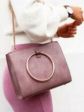 NEW Abbott lyon Bag Moda Top Handle Bag (Mauve/Rose Gold) RRP £79.00