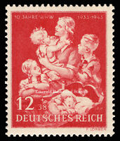 EBS Germany 1943 10th Anniversary Winter Relief Fund Michel 859 MNH**
