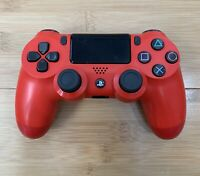 Sony PlayStation 4 PS4 Magma Red Wireless Controller DualShock - Ships Same Day