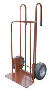 Müba Schwerlastsackkarre 600 kg Tragkraft, opt. Baumstammhalter u. Stützrad