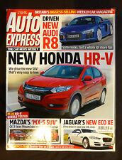 Auto Express, 15th July  2015, Britain's biggest selling weekly car magazine