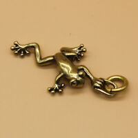 Solid Brass Frog Keychains Pendant Keyrings Key Chain Pendant Gift
