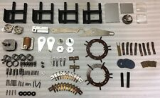Large Lot Of Misc Turntable & Projector Parts Gear Mirror Slide Rails Contacts