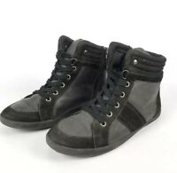 Call It Spring Womens Black High Top Shoes Size 7
