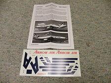 Flight Path decals 1/144 FP44-273 Arrow Dark Blue DC-10     Box 8