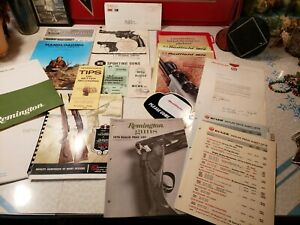 LARGE GROUP OF VINTAGE HUNTING CATALOGS PAPER REMINGTON RUGER REDFIELD +