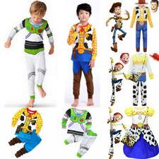 Kids Cosplay Toy Story Costume Buzz Woody Lightyear Jessie Travis Novelty Outfit