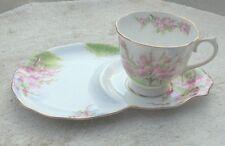 4 Vintage Royal Albert Blossom Time Snack Set