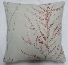 """Sanderson """"Heath"""" Cushion Cover in Stone and Rose by Anderson Castle Design"""