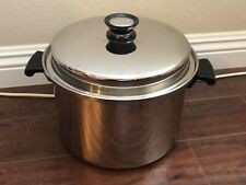 AMWAY Multi Ply Stainless Steel Stock Pot 8 qt with Lid