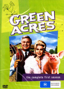 Green Acres Season 1 One DVD New and Sealed Australian Release