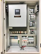 Système Complet 5kva 48 V onde sinusoïdale off grid solar inverter MPPT 80 A Chargeur