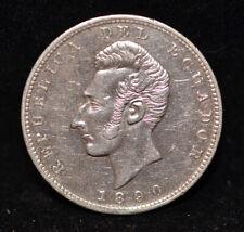 1890 Ecuador Silver 1 Sucre