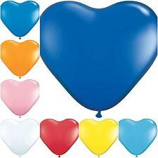 """Qualität 10 """" rot Ballon HERZ-BALLONS Ballons Helium oder Luft Latex Party"""