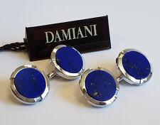 Damiani Lapis Lazuli 18k White Gold Men's Cufflinks MSRP $4,200