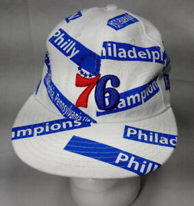 NEW NBA Philadelphia 76ers Sixers Hat Cap Red/Blue/white NEW ERA NBA