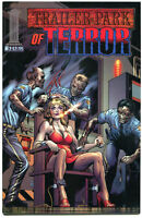 TRAILER PARK of TERROR #1-4,Zombies, Electric Chair, NM, 2 3, + Studio Pictures