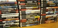 SONY PLAYSTATION 2 PS2 GAMES LOT YOU PICK YOUR OWN BUNDLE TESTED & MOST ARE CIB