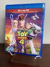 Toy Story 4 (3D + 2D Blu-ray, 3-Disc Set, Disney) Factory Sealed