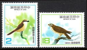 China Taiwan 2380-2381, MNH. East Asian Bird Protection Conference. Birds, 1983