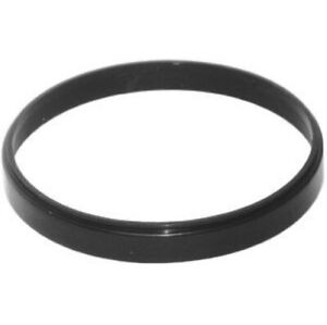 """Racing Power R2378 Air Cleaner Spacer; 1/2"""" Thick; Plastic; Black NEW"""