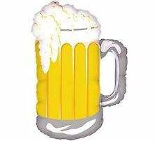 "Giant 32"" Inch Beer Frosty Mug Foil Balloon"