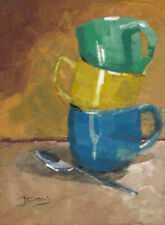 Artist Small (up to 12in.) Impressionist Art
