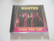 """Wanted """"Over the Top"""" Rare 1993 indie cd Norway"""