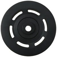 95mm Black Bearing Pulley Wheel Cable Gym Equipment Part Wearproof N1S7
