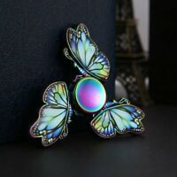 Fidget Hand Spinner Rainbow Butterfly Finger Gyro EDC ADHD Autism Toy Game Gift