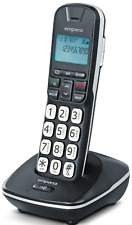 Emporia Cordless Dect Phone with big buttons.Extra loud & HAC.Speaker phone