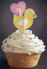 Easter Ducky Cupcake Wraps n Pix from Wilton 1435 NEW