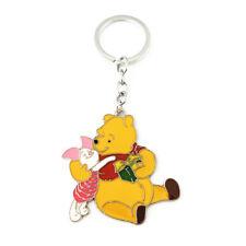 Winnie the Pooh Piglet Silvertone Cartoon/TV Charm Pendant Key Chain