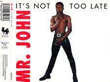 MR. JOHN - It's not too late - Rare CD 1997 DANCE FACTORY Records NEU