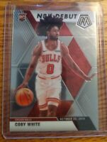 2019-20 Panin Mosaic Coby White NBA Debut #264 Rookie Card