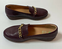 Ladies Fitflop Loafer Moccassin Shoes Super Comfort Plum Leather UK 7 EU 41 R£80