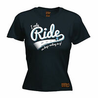 I Only Ride On Days Ending In Y WOMENS T-SHIRT tee cycling funny mothers day