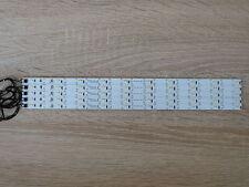 5x LED Waggon Beleuchtung 285 mm neon-weiss  kürzbar /Anschusskabel angelötet H0