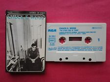 Ultra Rare K 7 / Cassette / Chuck E Weiss ‎– The Other Side Of Town