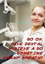 Swamp Breath - Dental Hygiene ~ Rude Medical Doctor Card ~ Potty Mouth Cards