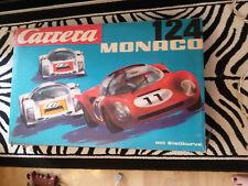 Carrera Monaco 124 mit viel zubehör !