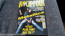 REVISTA MAGAZINE ROCK & FOLK 310 METALLICA JOY DIVISION JIMMY PAGE JEFF BECK
