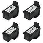4x HP 96 Black C8767W Remanufactured Ink Cartridges 28% More Photosmart 2610